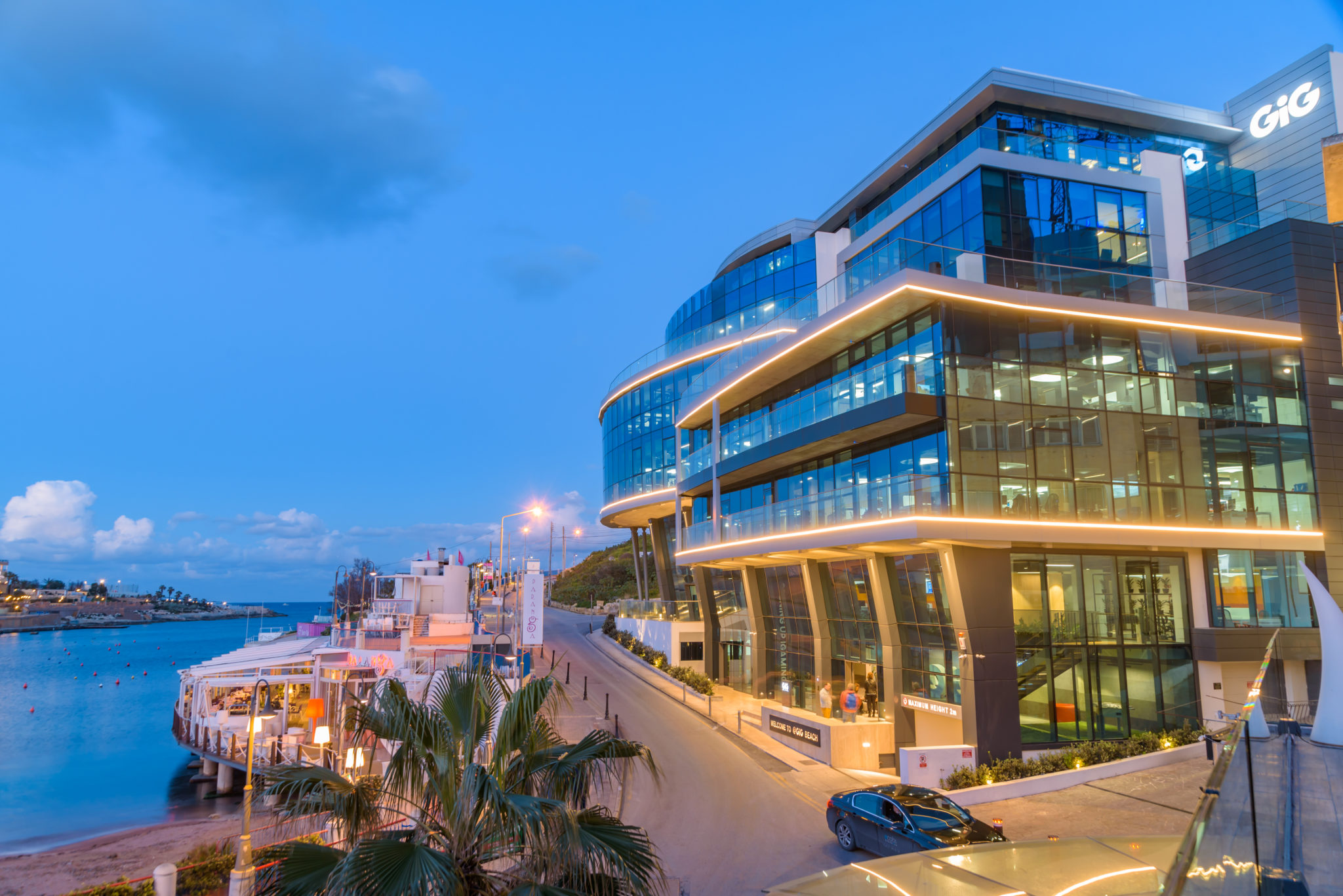 Exaclo Building Facade