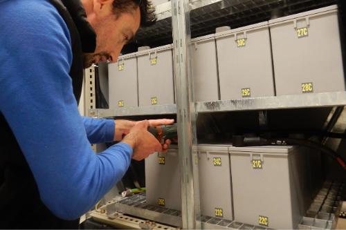 UPS Battery installation